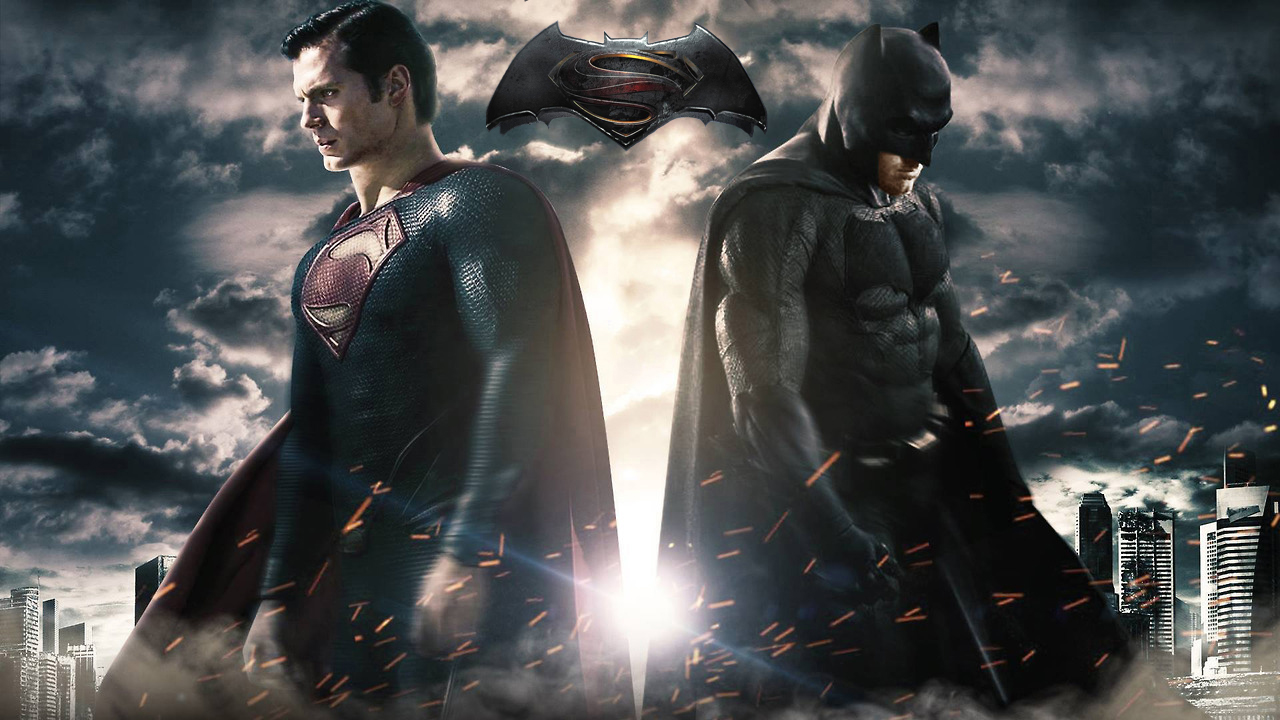 Batman vs Superman Promo Pic