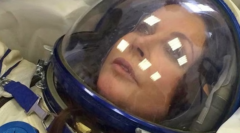 Sarah Brightman Gets Ready for Space