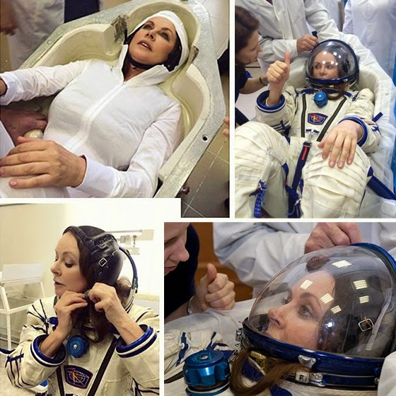 Sarah Brightman space training program
