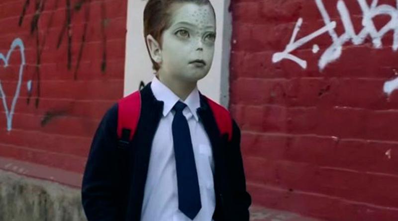 Alien Boy in Anti-Bullying Campaign
