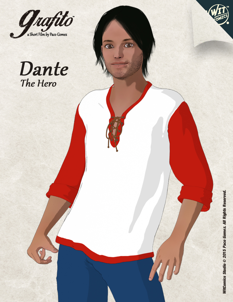 Dante 3d Anime Character