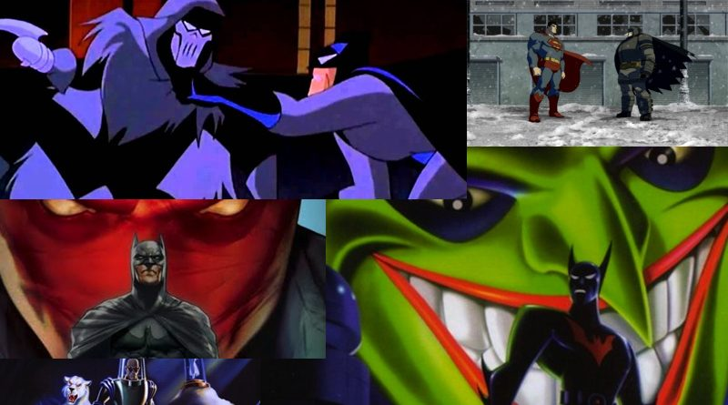 Batman Animated Movies