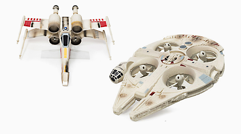 Disney Unveils Millennium Falcon and X-Wing Drones