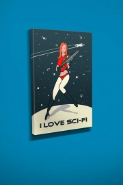 i-love-sci-fi-poster-18×24-canvas