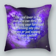Marilyn Monroe Lover Famous Quote Pillow