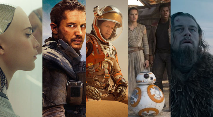 Best Visual Effects Oscars 2016