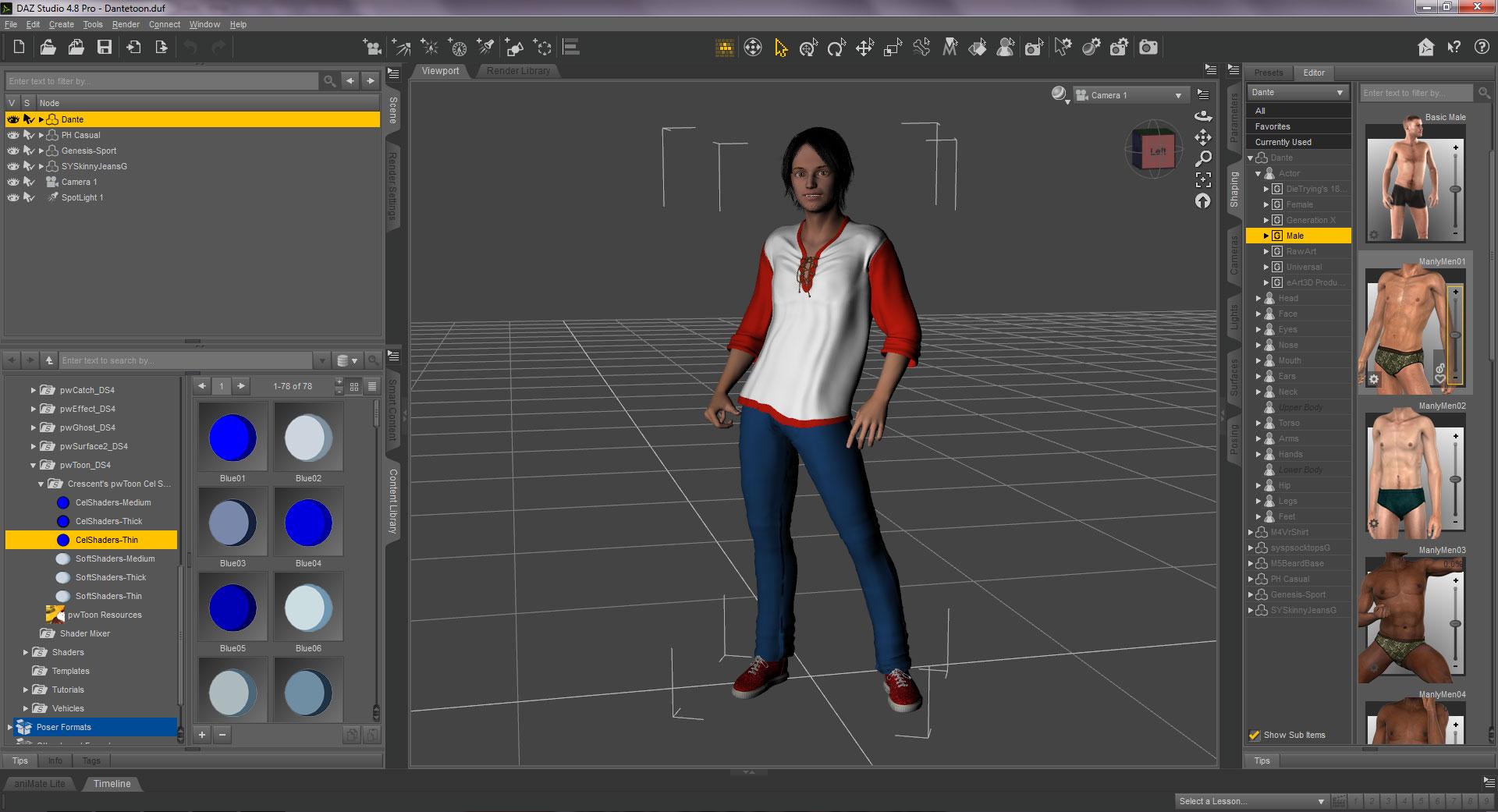 3d modelling daz studio