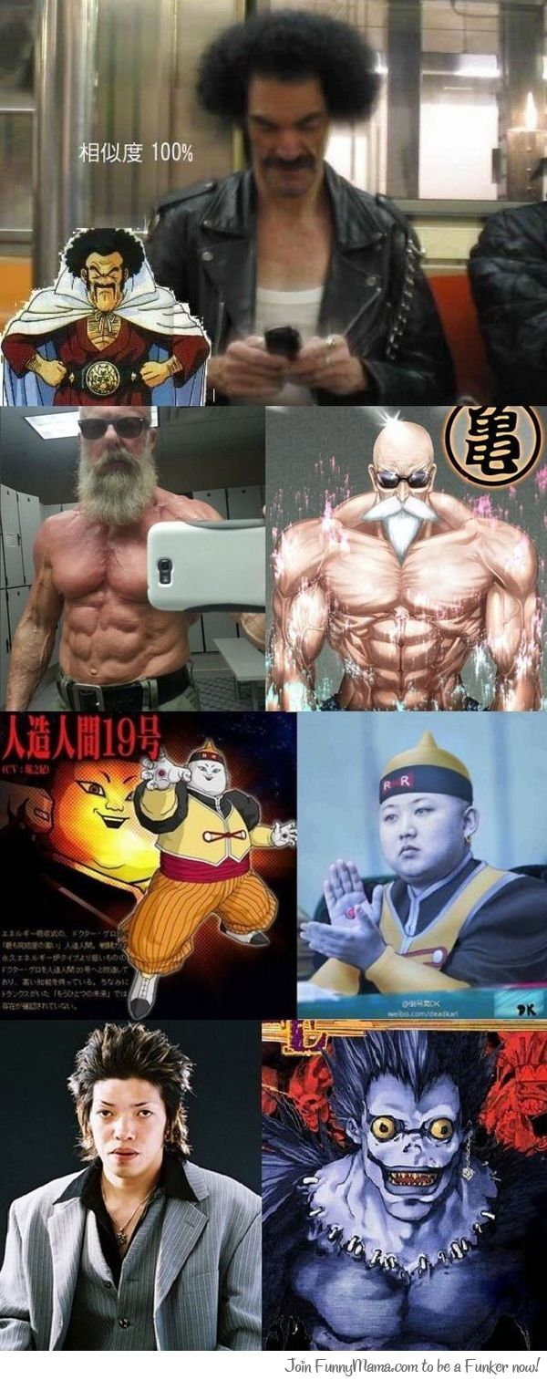 Anime Look Alike Real Life
