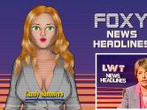 Retro News Broadcast Game