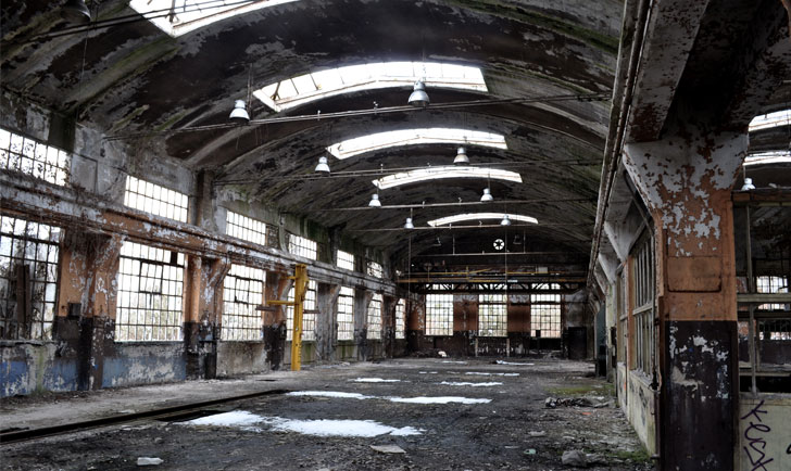 factory ruins