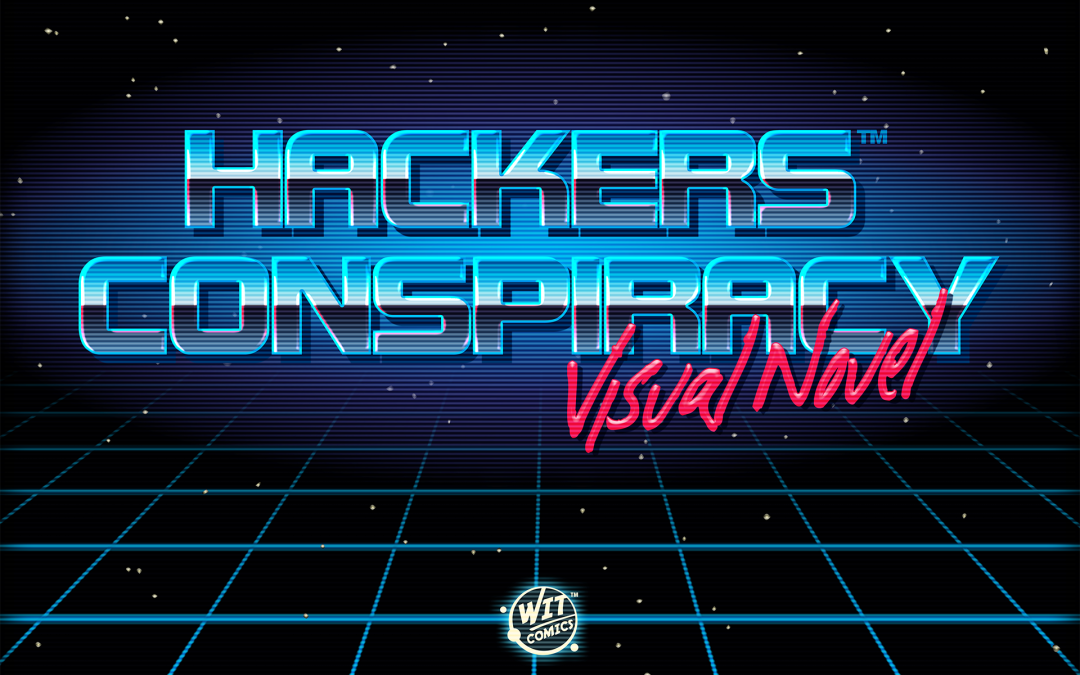 Hackers Conspiracy Visual Novel Logo