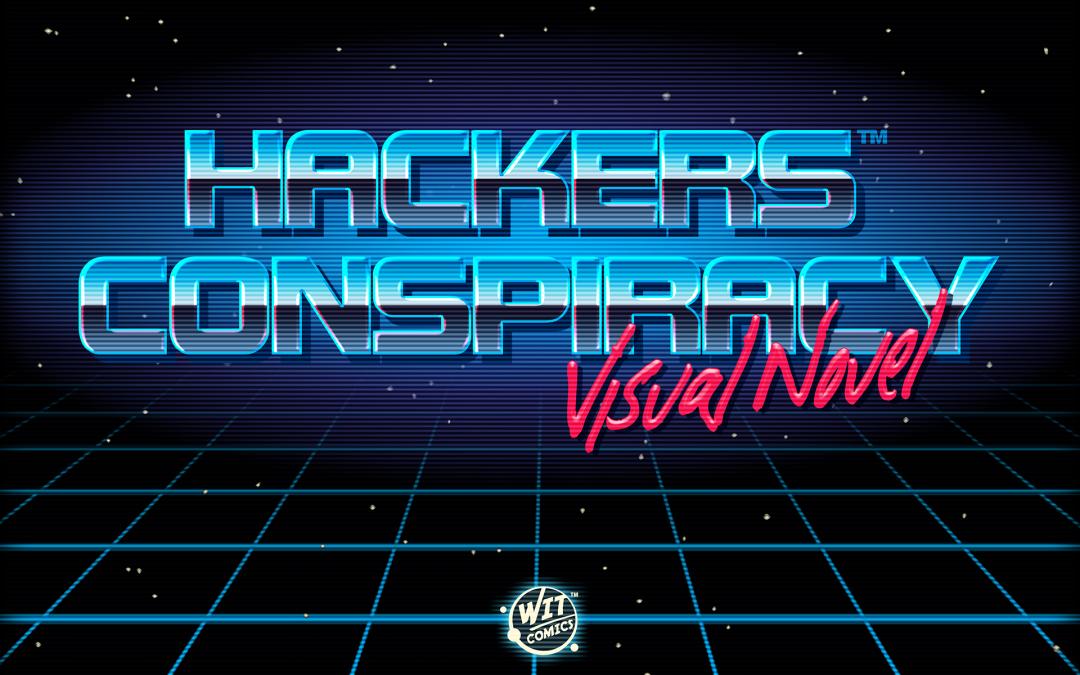 Hackers Conspiracy Visual Novel Logo