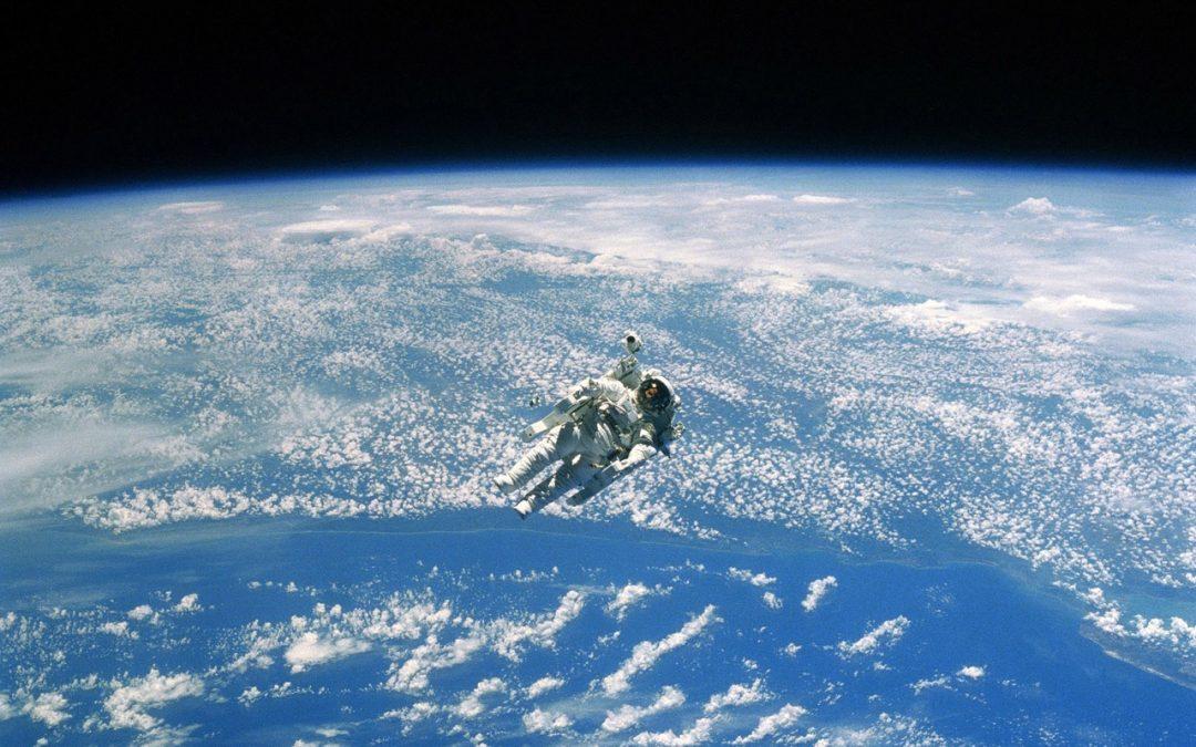 Spacewalk Earth From Space HD