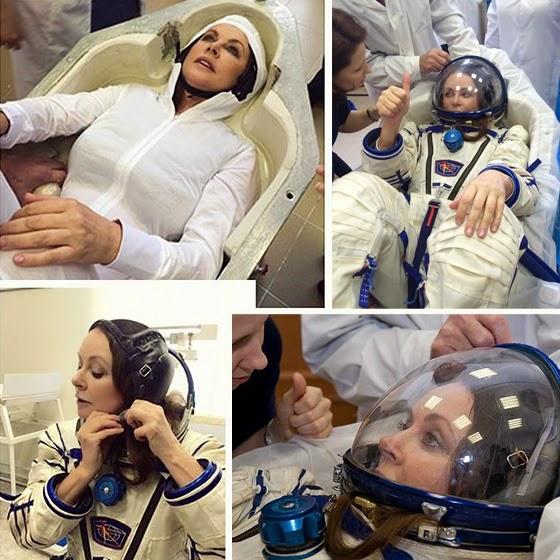 Sarah Brightman space training program
