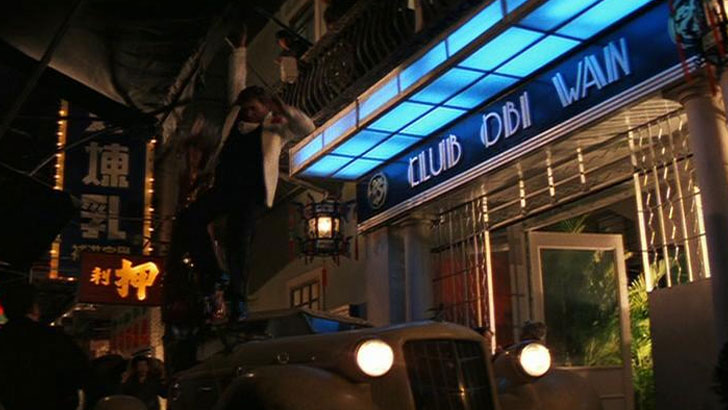 Indiana Jones at Club Obi Wan
