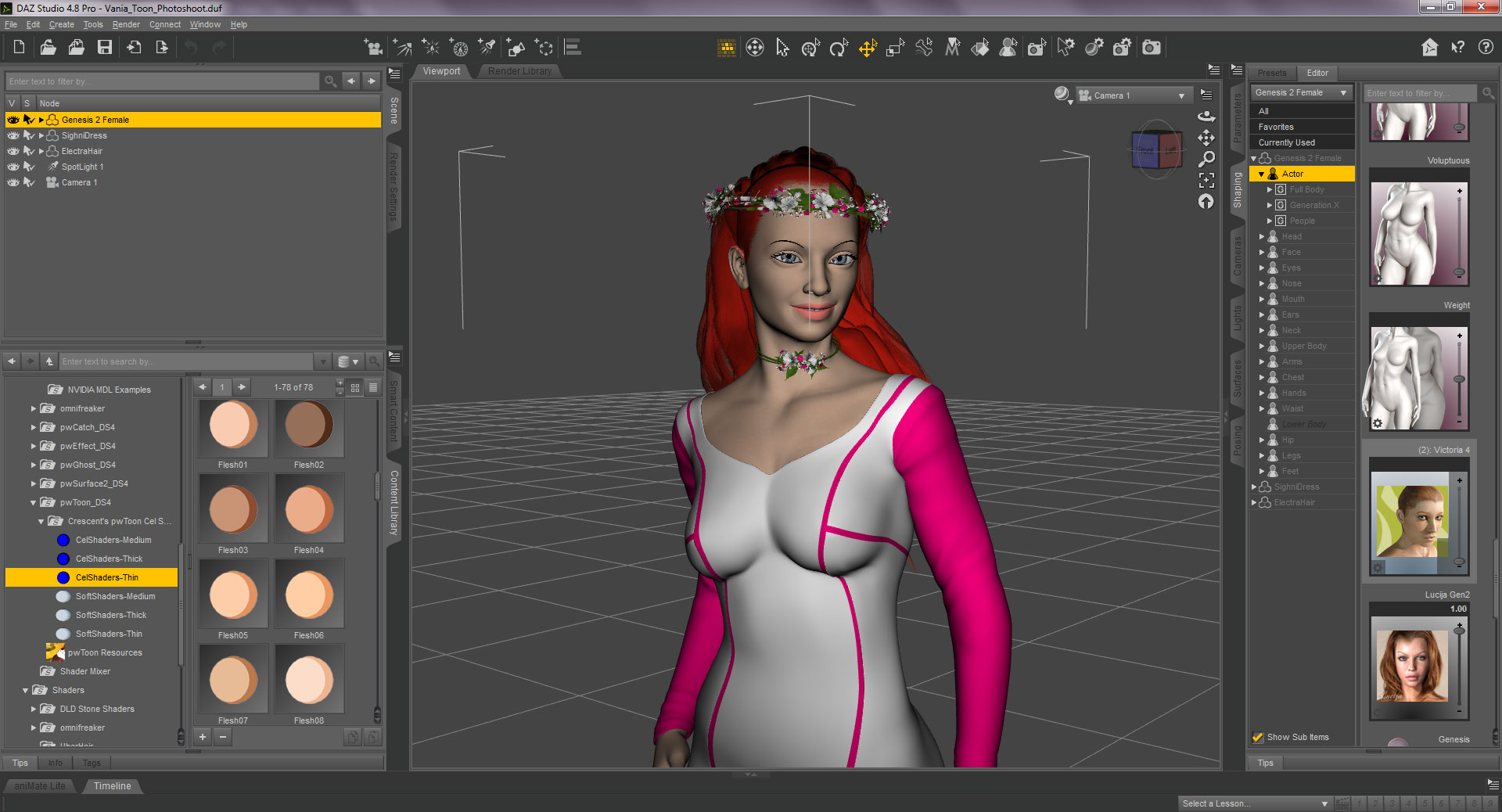 Princess Vania DAZ 3D