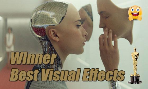 best visual effects ex machina