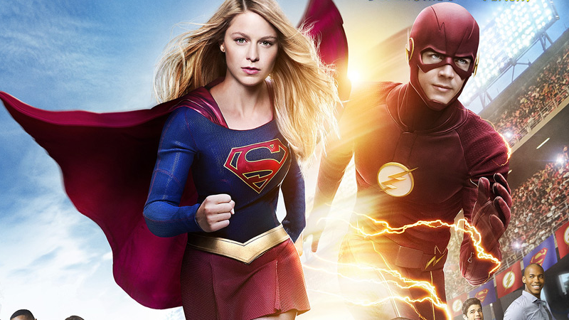 Supergirl Flash Crossover on TV