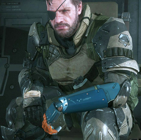 Solid Snake Bionic Arm