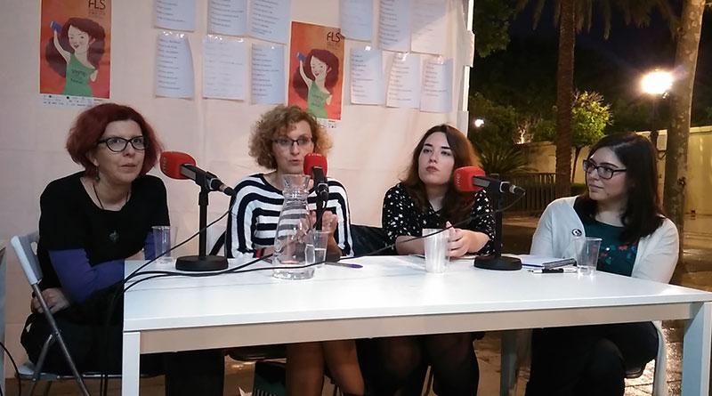 Coloquio La mujer y la ciencia ficción Feria del Libro de Sevilla 2018